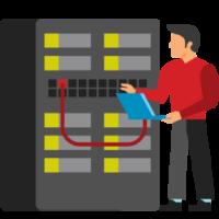 man fixing database